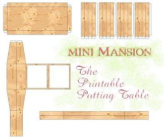 Printable Potting Table - Click on the detail you would like to print